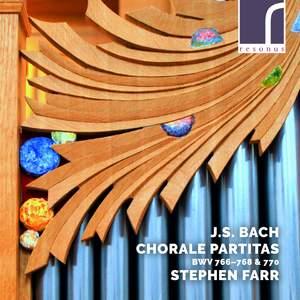 JS Bach: Chorale Partitas, BWV 766-768 & 770 Product Image