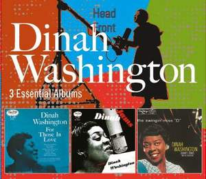 Dinah Washington - 3 Essential Albums - Verve: 5379482 - 3 CDs ...