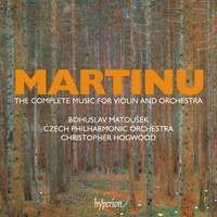 Martinů: The complete music for violin and orchestra