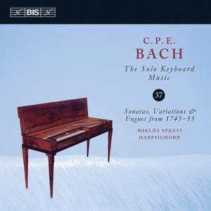 CPE Bach: The Solo Keyboard Music, Vol. 37 Product Image