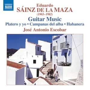 Eduardo Sáinz de la Maza: Guitar Music
