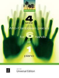 Cornick Mike: 4 More Afro-Caribbean Pieces for 6 Hands at 1 Piano