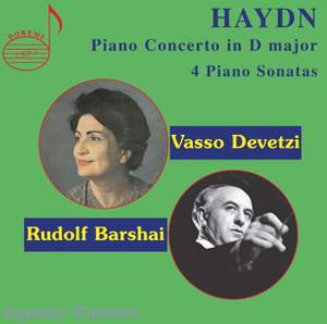 Haydn: Piano Concerto in D major & 4 Piano Sonatas