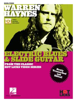 Warren Haynes - Electric Blues & Slide Guitar Product Image