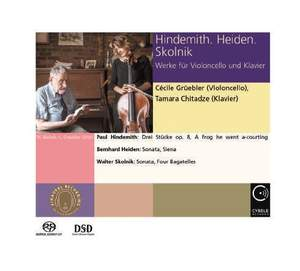 Hindemith, Heiden, Skolnik - Works for Violoncello and Piano
