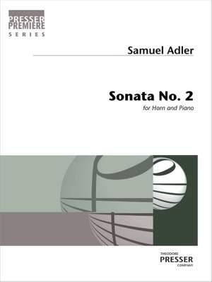 Samuel Adler: Sonata No. 2