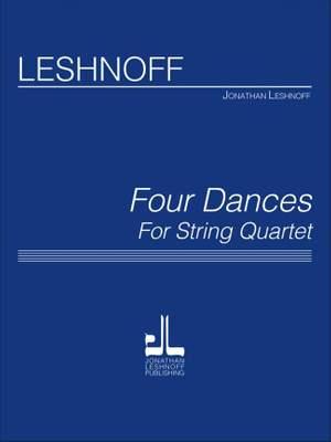 Jonathan Leshnoff: Four Dances for String Quartet