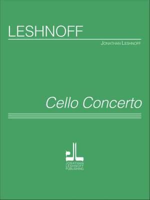 Jonathan Leshnoff: Cello Concerto Product Image