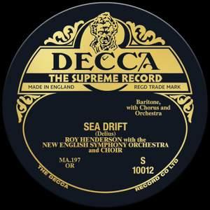 Delius: Sea Drift - Vinyl Edition