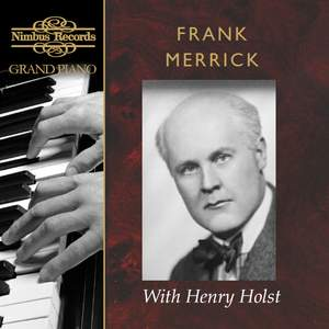 Frank Merrick with Henry Holst Product Image