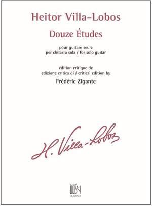 Heitor Villa-Lobos: Douze Études