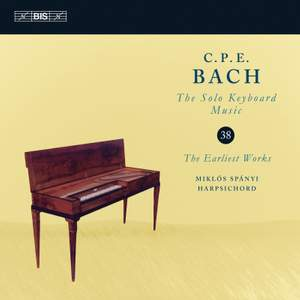 CPE Bach: Solo Keyboard Music, Vol. 38 Product Image
