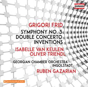 Grigori Frid: Symphony No. 3, Double Concerto & Inventions Product Image