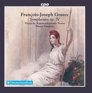 Gossec: Symphonies, Op. 4 Product Image