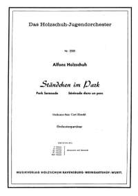 Holzschuh, A: Ständchen im Park