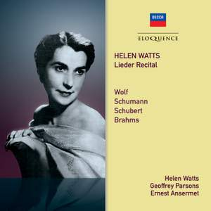 Helen Watts – Lieder Recital