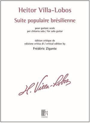 Heitor Villa-Lobos: Suite populaire brésilienne