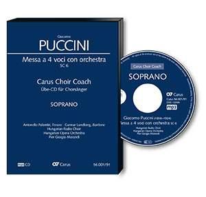 Puccini: Messa a 4 voci con orchestra. Carus Choir Coach SC 6