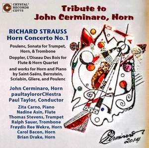 Tribute to John Cerminario, Horn