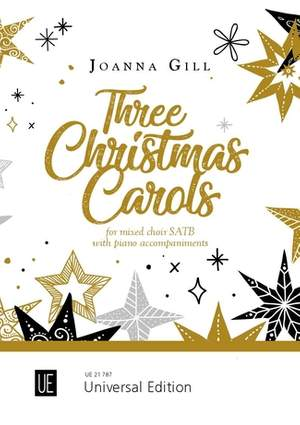 Gill Joanna: Three Christmas Carols