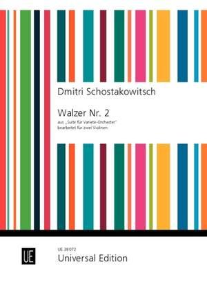 Schostakowitsch: Second Waltz from Suite for Variety Orchestra