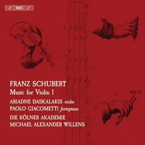 Schubert: Music for Violin, Vol. 1