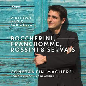 Boccherini, Franchomme Rossini & Servais: Virtuoso Music for Cello and Strings Product Image