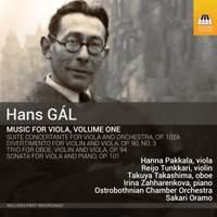 Hans Gál: Music for Viola