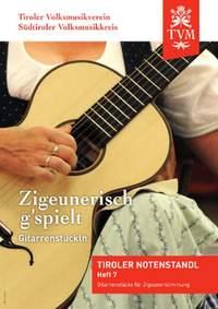 Zigeunerisch g`spielt