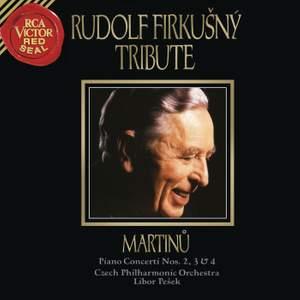 Martinu: Piano Concertos Nos. 2, 3 & 4