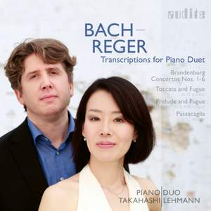 Bach / Reger: Transcriptions for Piano Product Image