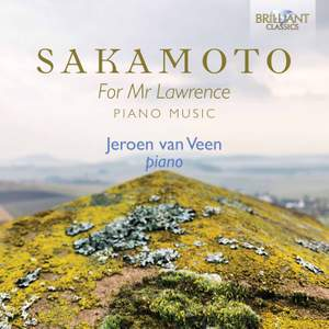 Sakamoto: For Mr Lawrence Piano Music Product Image