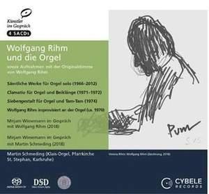 Wolfgang Rihm and the Organ