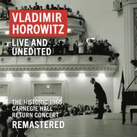 Vladimir Horowitz: Carnegie Hall Concert, May 9, 1965