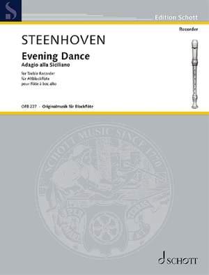 Steenhoven, K v: Evening Dance