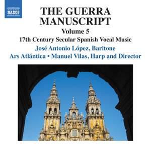 The Guerra Manuscript, Vol. 5
