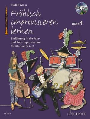 Mauz, R: Fröhlich improvisieren lernen Band 1 Product Image