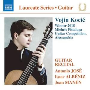 Vojin Kocić - Winner 2018 Michele Pittaluga Guitar Competition Product Image