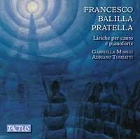 Francesco Balilla Pratella: Songs for voice and piano