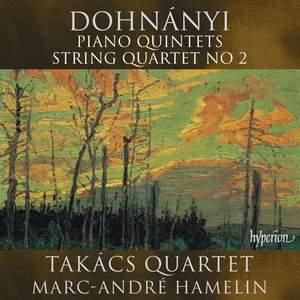 Dohnányi: Piano Quintets & String Quartet No. 2 Product Image