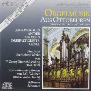 Leiding & Schnitzer: Organ Musik From Ottobeuren