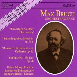 Max Bruch: Works For Orchestra