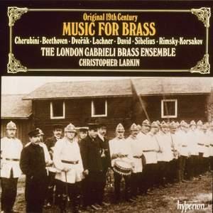 Original 19th-century music for brass