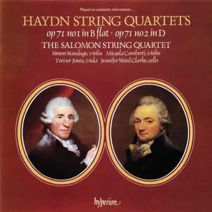 Haydn: String Quartets, Op. 71/1 & Op. 71/2