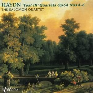 Haydn: String Quartets, Op. 64 Nos. 4-6 Product Image