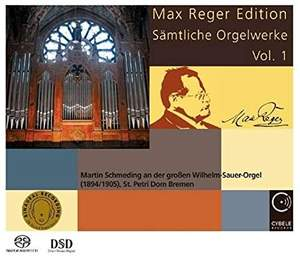 Max Reger Edition - Complete Organ Works Vol. 1 Product Image