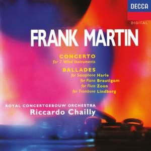 Frank Martin: Concerto for 7 Wind Instruments, Ballades