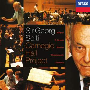 Sir Georg Solti: Carnegie Hall Project Product Image