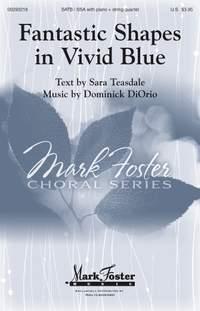 Dominick DiOrio: Fantastic Shapes in Vivid Blue