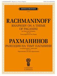 Sergei Rachmaninov: Rhapsody on the Theme by Paganini, Op. 43